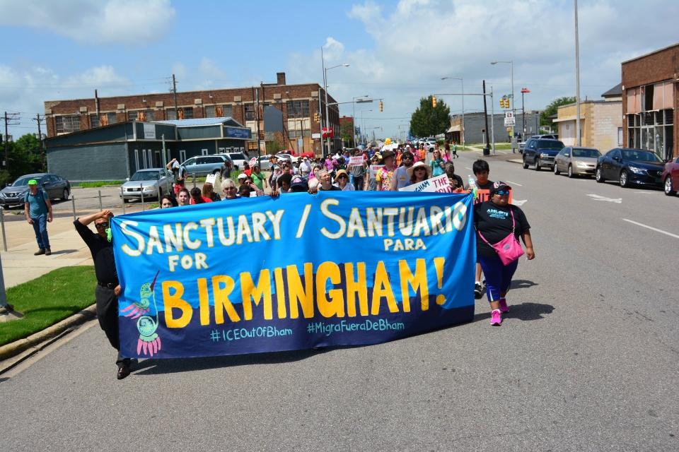 Birmingham Sanctuary City Adelante Alabama
